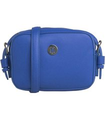 cartera classic camera azul tommy jeans