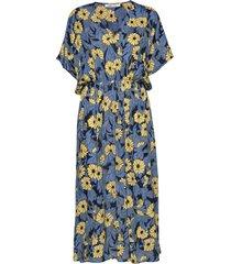andina long dress aop 8083 knälång klänning samsøe samsøe