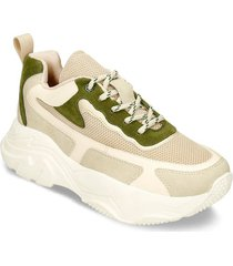 zapatos casuales beige champaña bata isola mujer