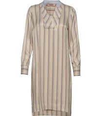 lipa river dress knälång klänning beige mos mosh