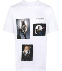 neil barrett the rockstar gods t-shirt - white