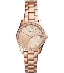reloj fossil para mujer - scarlette  es4318