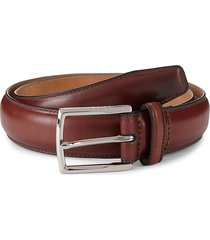 cole haan men's full dome leather belt - british tan - size 42