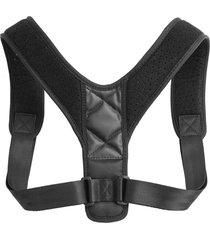 los estudiantes adultos corrector de postura de espalda ajustable tirante banda soporte de hombro