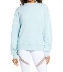 women's alo freestyle mock neck sweatshirt