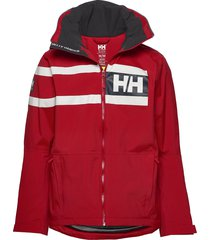 salt power jacket outerwear sport jackets light jackets röd helly hansen