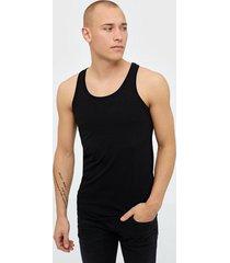 jack & jones basic tank top noos t-shirts & linnen svart