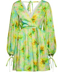 abito/dress dresses party dresses groen msgm