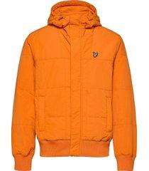 quilted bomber jacket bomberjack jack oranje lyle & scott