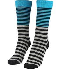 medias azul-gris-negro colore