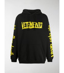 vetements world tour graphic-print hoodie