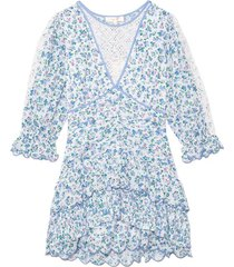 marquise dress in blue jay song