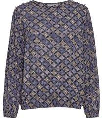 frmaori 1 blouse blus långärmad multi/mönstrad fransa