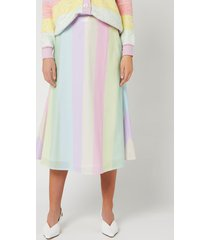 olivia rubin women's penelope skirt - neapolitan stripe - us 2/uk 6