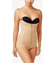 leonisa women's firm tummy-control wyob power slim bodysuit shaper 018478