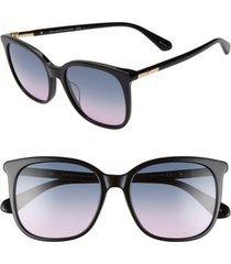 women's kate spade new york caylin 54mm gradient square sunglasses -