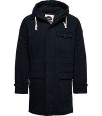 classic padded organic cotton parka jacket parka jacka scotch & soda