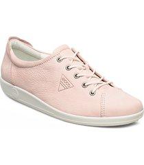 soft 2.0 låga sneakers rosa ecco