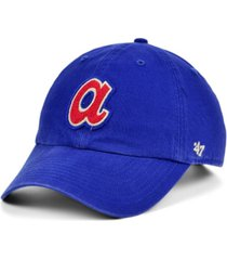 '47 brand atlanta braves mclean coop clean up cap
