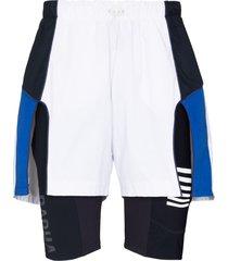 robyn lynch x rapha hybrid 2-in-1 shorts - white