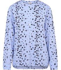 blouse met lange mouwen