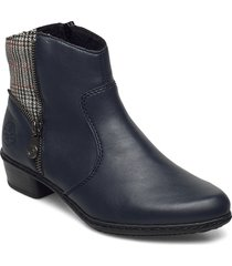y0770-14 shoes boots ankle boots ankle boot - flat svart rieker