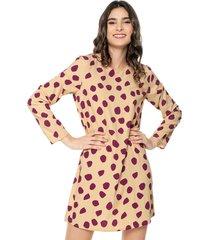 vestido amarillo-violeta glamorous