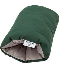 poduszka na rękę - zieleń z szarym velvetem