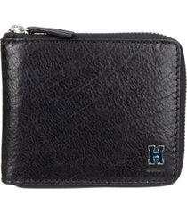 tommy hilfiger men's rfid zip around wallet
