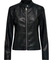 jacket jdystormy faux leather jacket