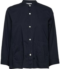 arc shirt blouse lange mouwen blauw hope