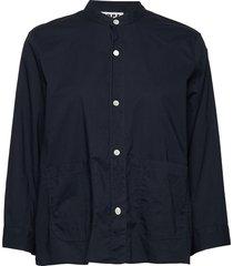 arc shirt overhemd met lange mouwen blauw hope