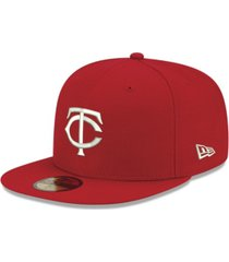 new era minnesota twins re-dub 59fifty cap