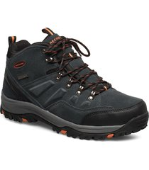 mens relment - pelmo - waterproof shoes boots winter boots svart skechers