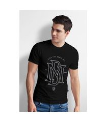 camiseta base nobre nb t- shirt masculina