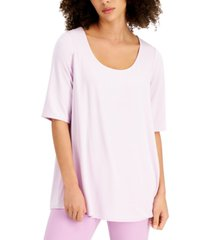 alfani scoop-neck top, created for macy's