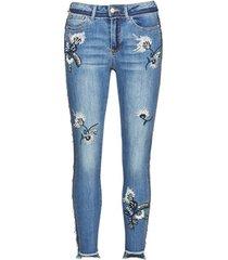 skinny jeans desigual miami flowers