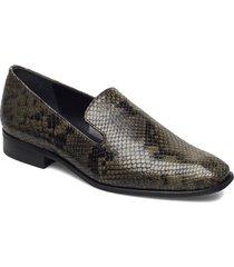 budapest diamond lux loafers låga skor grön gardenia