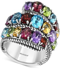 effy multi-gemstone ring (8-1/4 ct. t.w.) in sterling silver