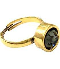anel armazem rr bijoux cristal swarovski feminino
