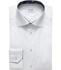 contemporary-fit button-down dress shirt