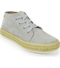 zapato casual yute dama 692205gris