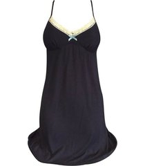 womens luxury black or grey viscose slip chemise night gown / dress, small sizes
