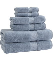 ugg(r) basel 6-piece towel set in chambray at nordstrom