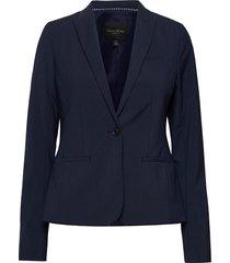 classic-fit washable italian wool-blend blazer blazers business blazers blauw banana republic