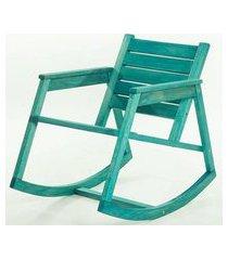cadeira balanco janis azul 80cm - 61408 azul