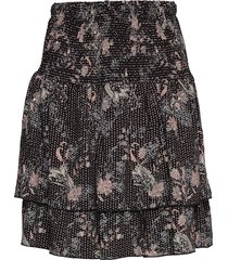 delia skirt knälång kjol svart nü denmark