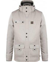 chaqueta impermeable 3m expedition gris perla falcone