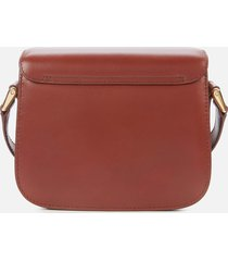 a.p.c. women's mini grace shoulder bag - hazelnut