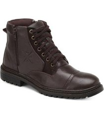 bota mr. light coturno couro masculina